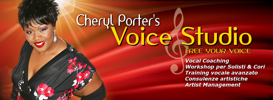Cheryl Porter's VoiceStudio.it - Libera la tua Voce - Free your Voice